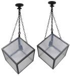 "7272 - 10"" Cube Pendant"
