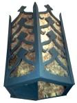 732 Morocco 6 Sided Lantern