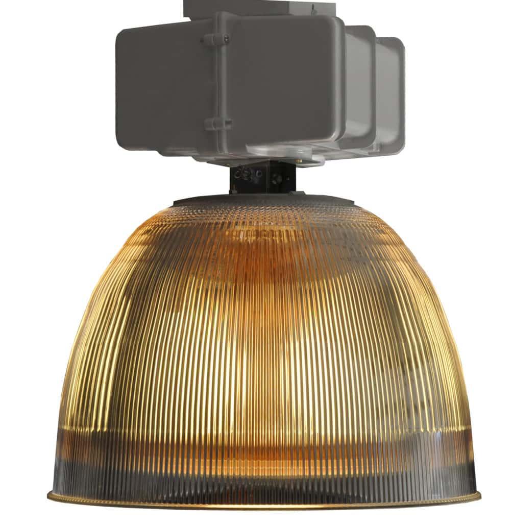 76102 Ind Ac H Ba Acrylic Light Fixture Transitional Lighting Hi Bay 2 ADG Lighting Holophane Style
