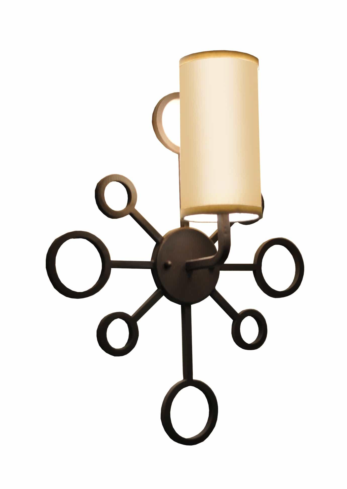 7795 Spago Wall Sconce Mid Century Modern Royer – ADG Lighting