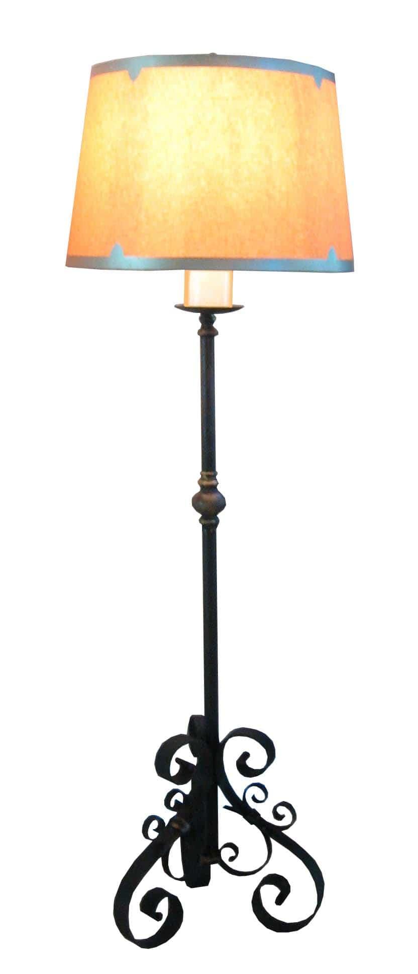 8030 Mb1 Ir L Ba ADG Lighting Hearst Castle 17th Century Monastery Altar Floor Lamp – ADG Lighting