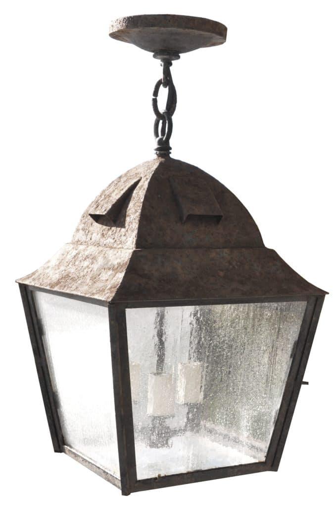80499 Cb2 Ir H Ba Rustic Square Lantern 1 ADG Lighting