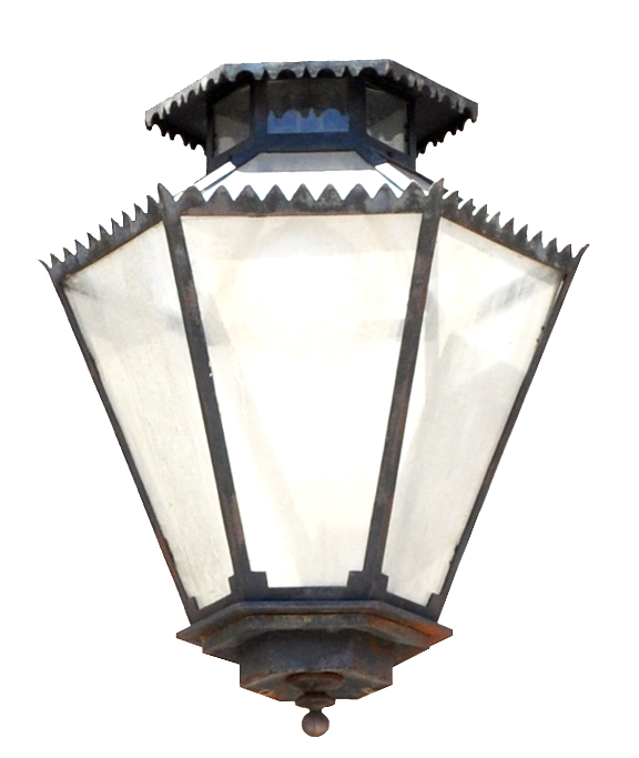 910 Mb1 Irbr P Sh 6 Sided Lantern Spanish Colonial ADG Lighting