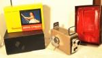 Vintage Kodak Brownie 8mm Movie Camera with original box