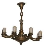 Bronze Vintage Chandelier