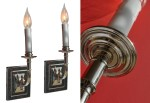 Nickel Sconce