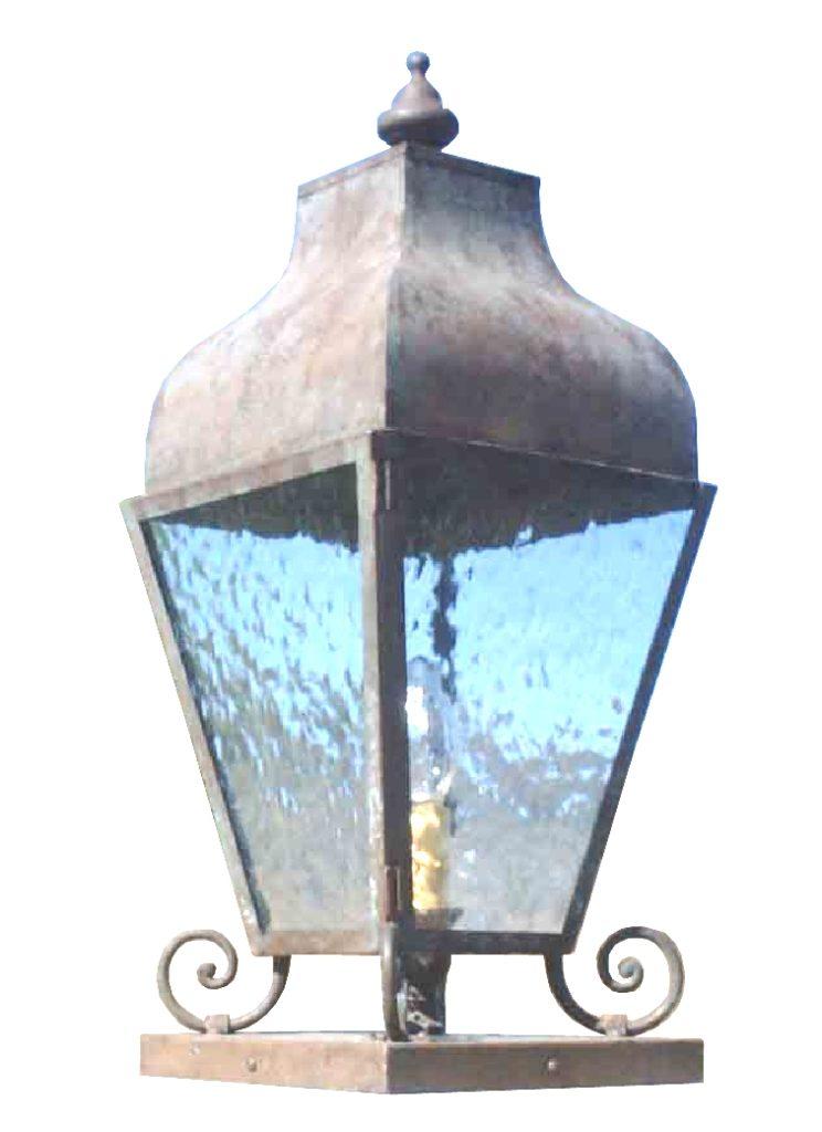 Pilaster Lantern 640 Cb1 Br P Sh Pilasterete ADG Lighting