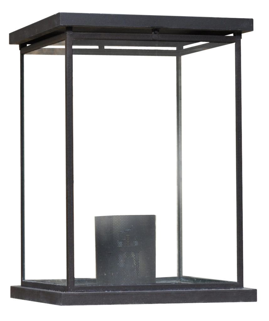 Pilaster Light 308 Box Glass Pilaster Lantern ADG Lighting