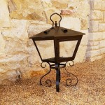 Stone Villa Lantern
