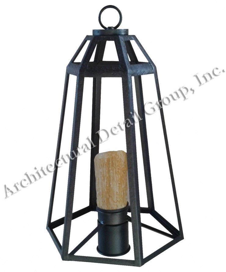 1180 Hex Lantern 1 WM  – ADG Lighting