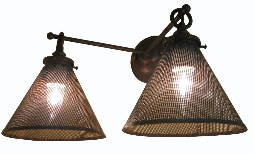 5160 Mb2 Br S Sh Dan Sconce Mesh Shades Ba – ADG Lighting