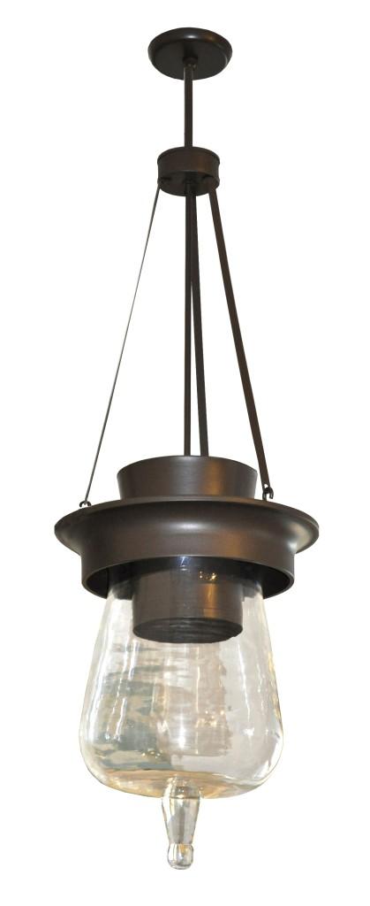 7016 Mb1 Br H Sh Pyrex Bell Jar Pendant LED Light Fixture 21 – ADG Lighting