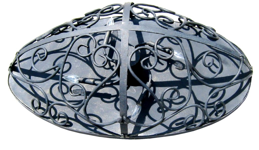 7160 Cb4 Ir H Fr Oval Ceiling Light – ADG Lighting