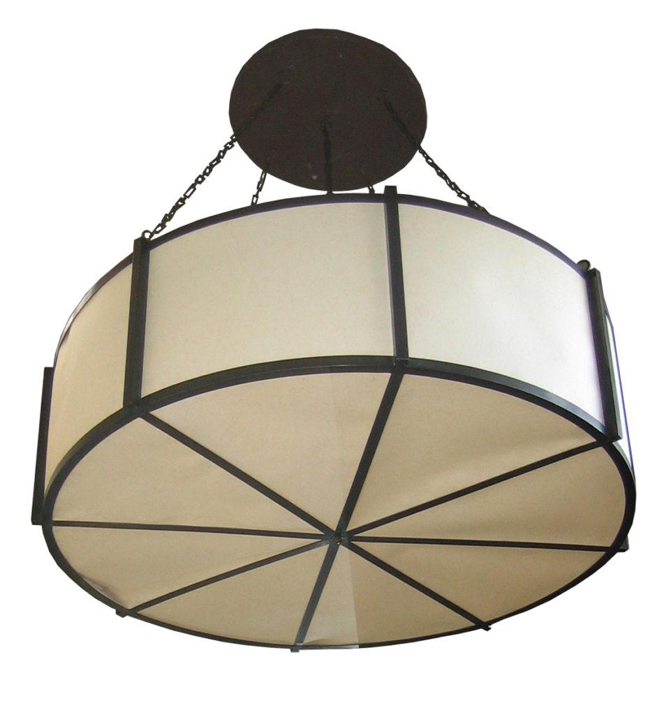 7170 Ind Br H Ba Drum Pendant – ADG Lighting