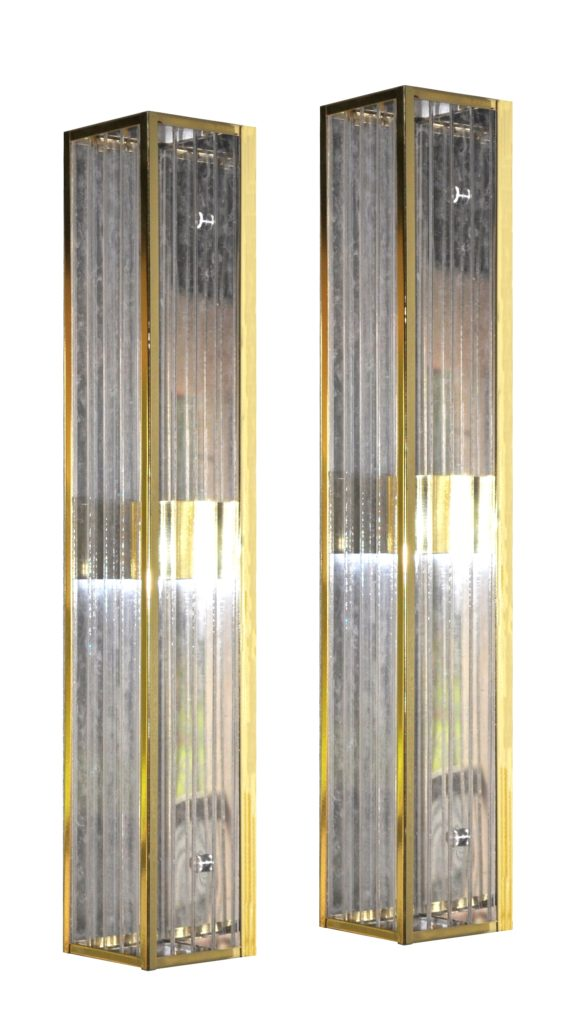 7181 Mb2 Br S Sh Polished Brass Wall Sconce With Ribbed Acrylic Panels 12 – ADG Lighting