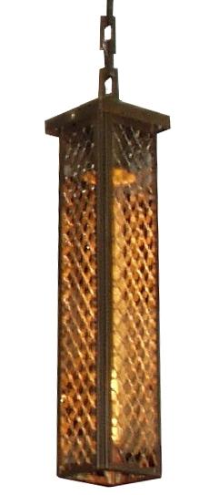 7310 Cb1 Br H Sh Long Mesh Pendant – ADG Lighting