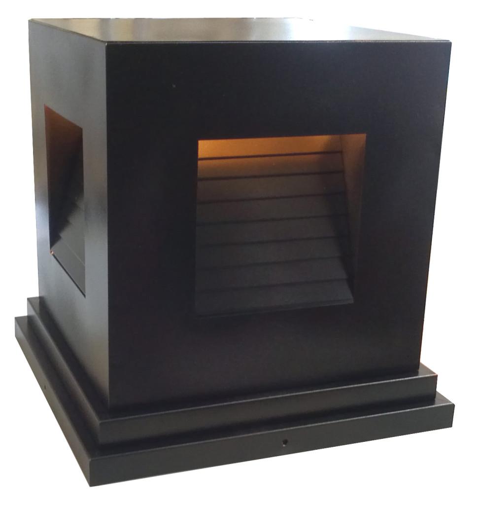 792 Ind Br P Sh Induction Square Pilaster Light 3 – ADG Lighting