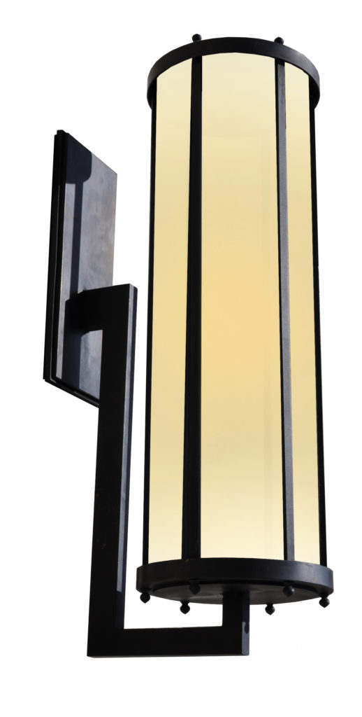 81560 Mb1 Ss W Ba Waterjet Cut Stainless Steel Light With Brass Plating And J Arm Wall Lantern 1  – ADG Lighting