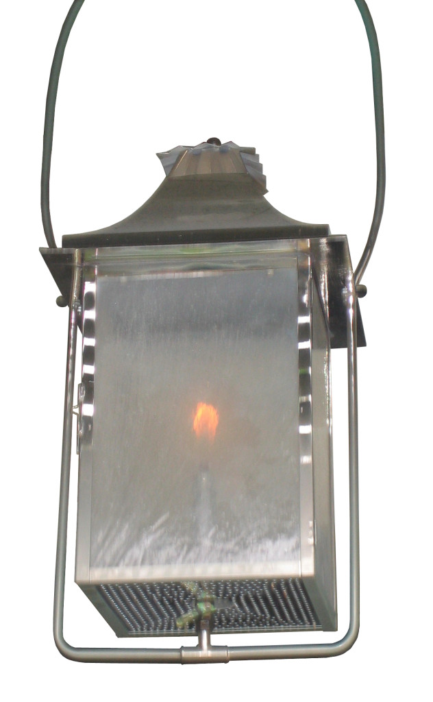 861 Ga Brni H Sh Nickel Plated Gas Lantern Lighting CR – ADG Lighting