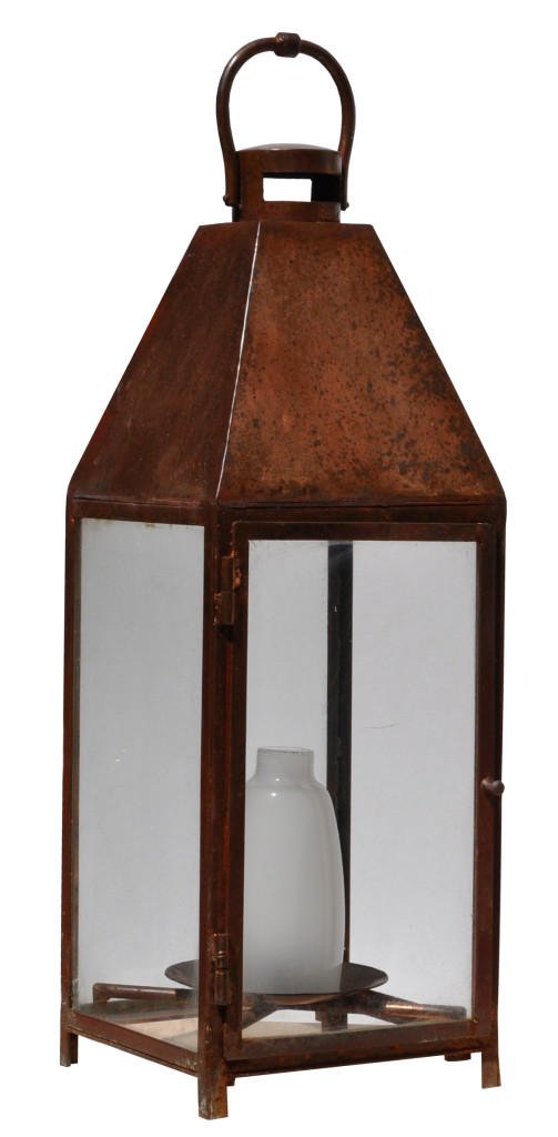 862 Mb1 St Pi Ba Copper Plated Landscape Lantern With Frosted Glass Center 2 CR – ADG Lighting