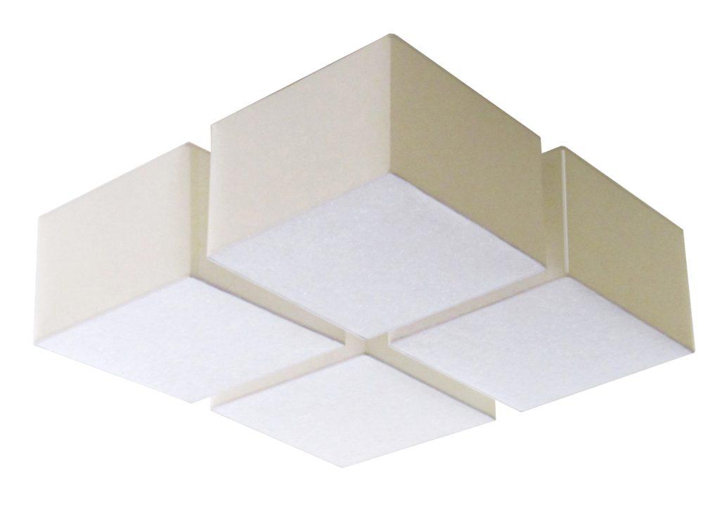 90500 4 Mb4 Fab H Framless Giant Linnen Shade Fixture – ADG Lighting