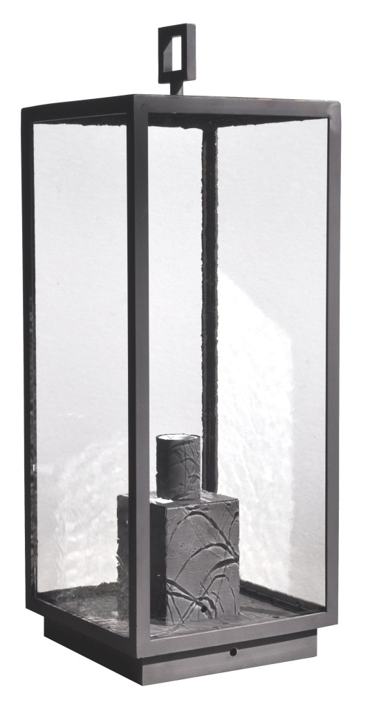968 Mb1 Br P Ba Brass Pilaster Lantern Transitional Light Fixture Contemporary Lantern 001