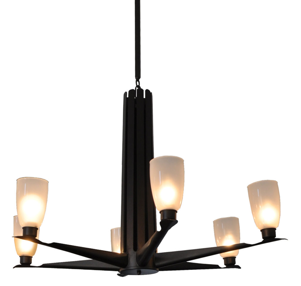Assil 6 Lite Chandelier – ADG Lighting