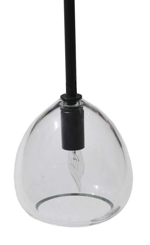 7017 Small Hand Blown Glass Pendant 628×1024