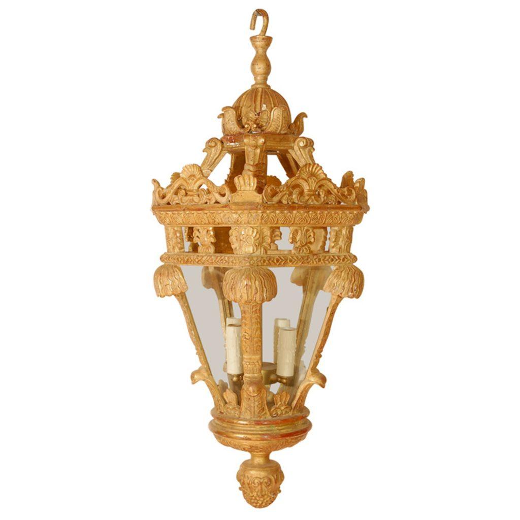 Dering Hall Featured Product: Gargoyle Wood Lantern