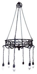 spanish chandelier, custom lighting, designer, architect, adglighting.com, dering hall