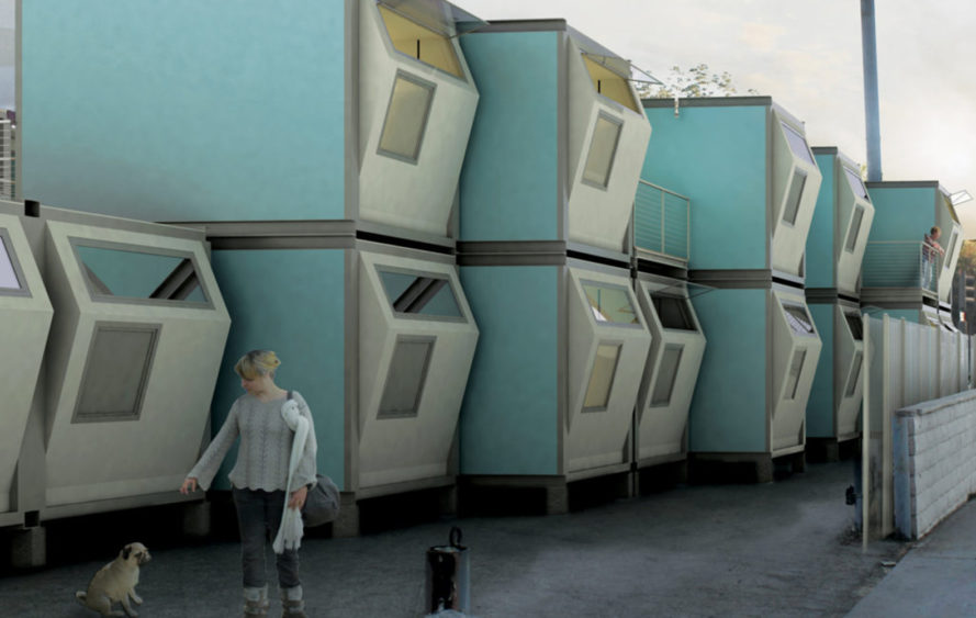 Architectural Innovation: Trojans Design with the Homeless in Mind