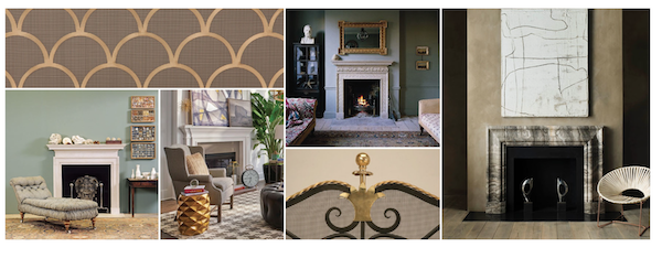 Dering Hall Feature: Chic Fireplace Elements & Accessories