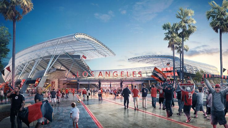 Los Angeles Architecture: New Football Stadium Breaks Ground in Exposition Park