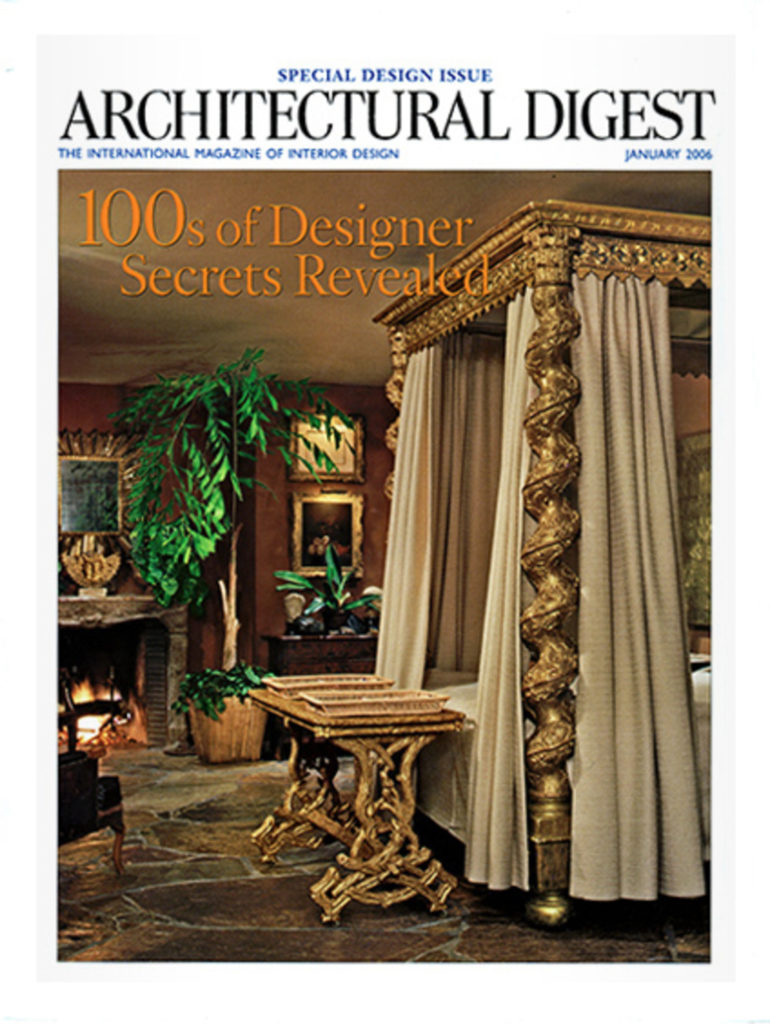 Architectural Digest January 2006