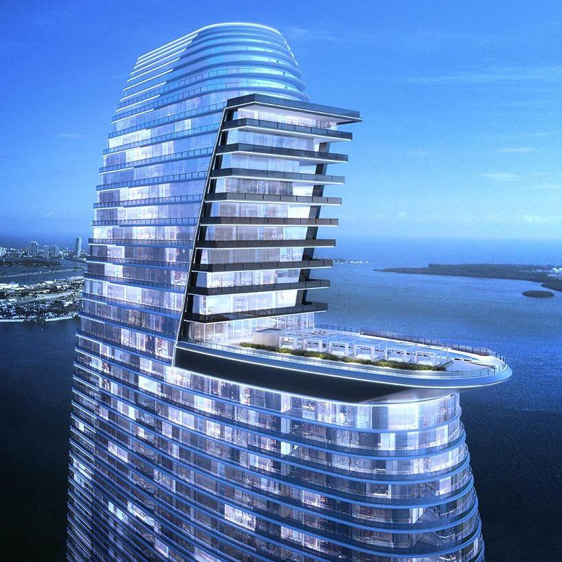 Miami Architecture: Aston Martin Channels James Bond in Downtown Miami