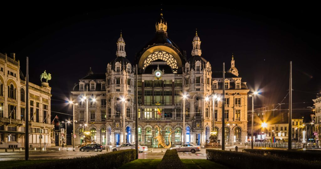 The Historic Architecture of the Antwerp Central Railway Station