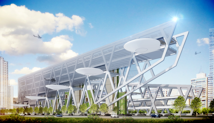 Dallas Architecture Firm Presents Designs For Uber Skyports
