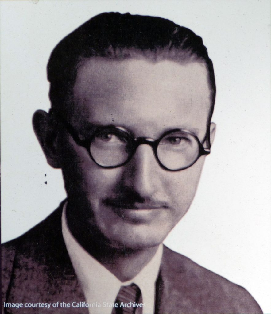 Alfred Eichler, The Architect of California