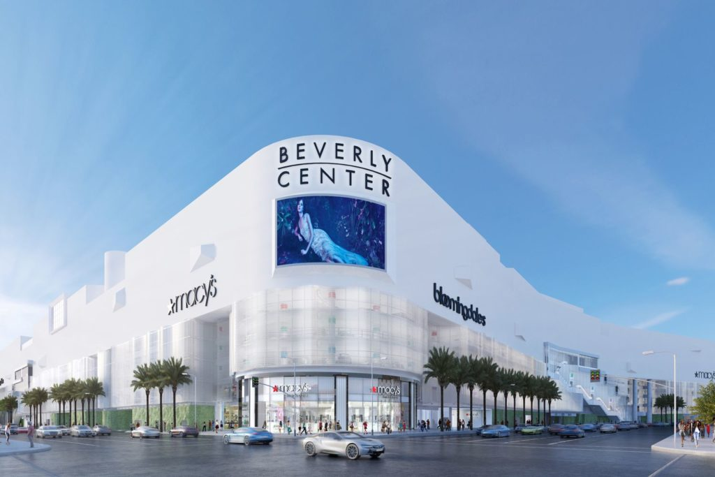 Beverly Center Shows off a New Image
