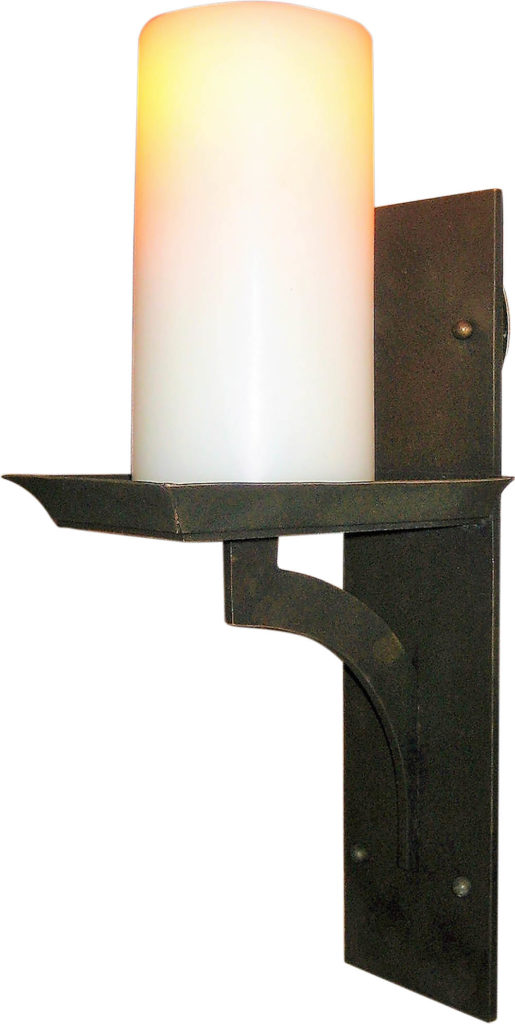 #5300 LED Br Br S Ba Oil Rubbed Bronze Sconce ADG Lighting