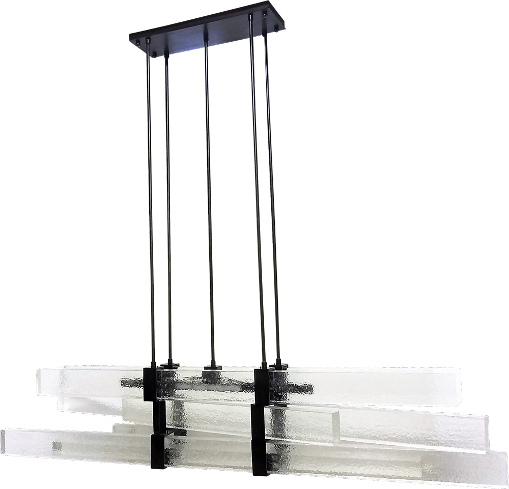 #96858 Illuminated Stacked Rustic Acrylic ADG Lighting