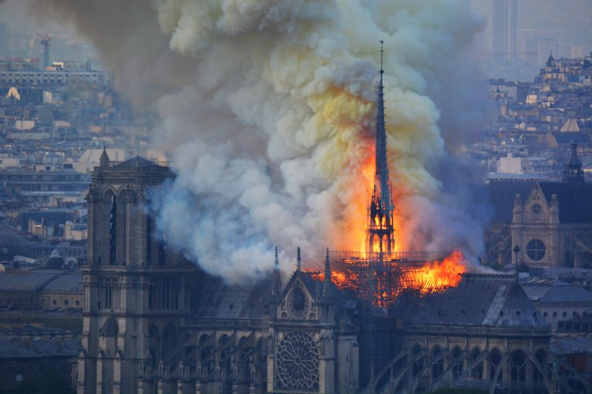 Notre Dame Cathedral Fire Inspires Unity and Hope