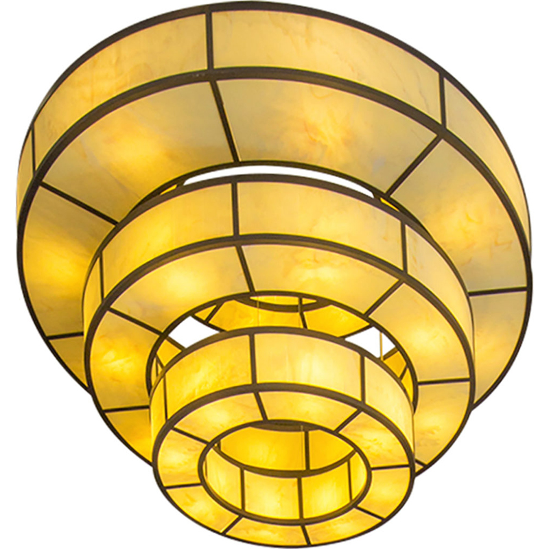 7193 San Jaquin Ring Pendant Layered ADG Lighting 1