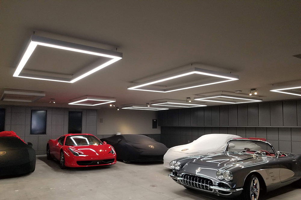 Led Garage By Adg Lighting 2