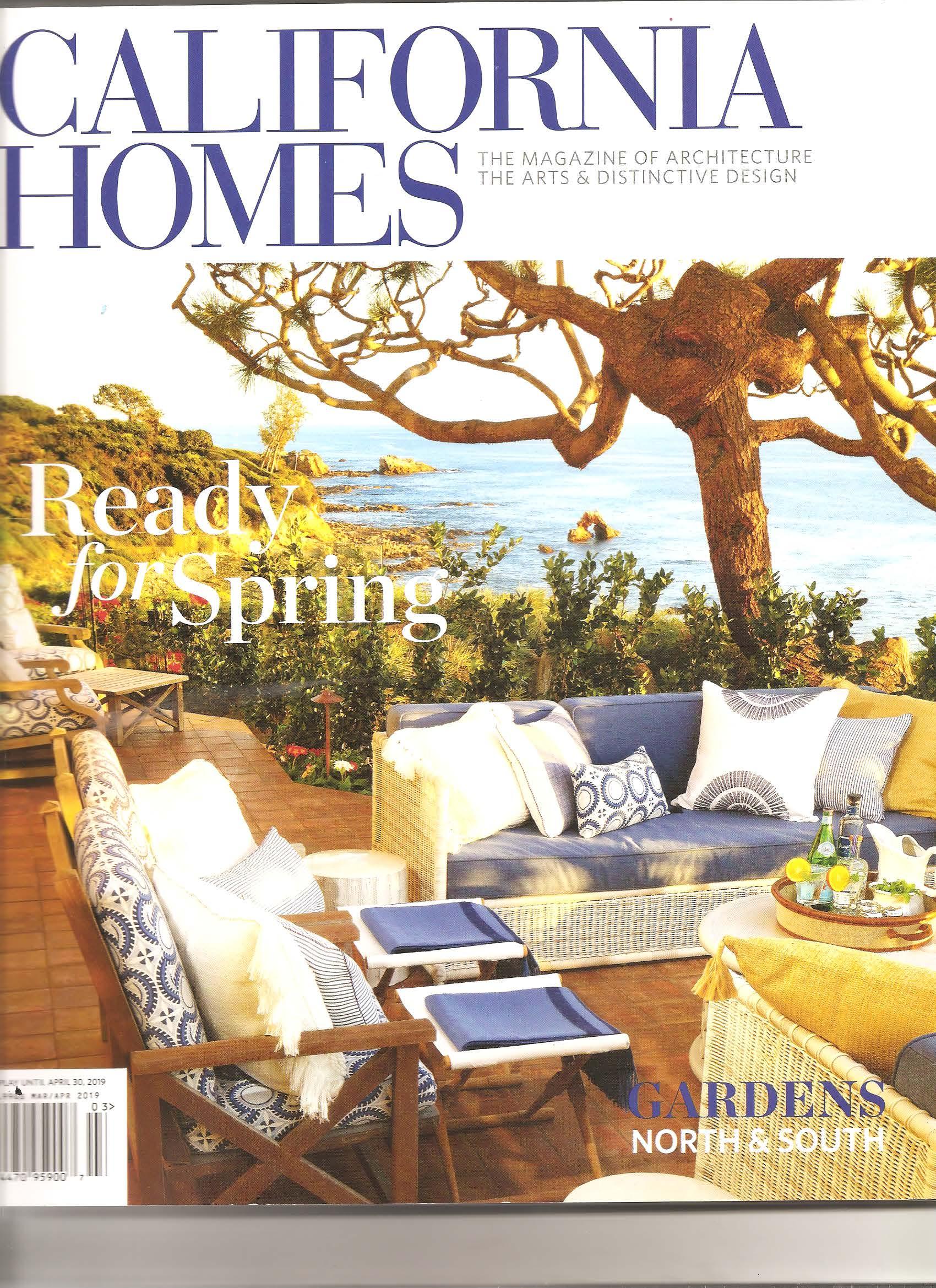 CA Homes Heffner Cover Mar April 2019