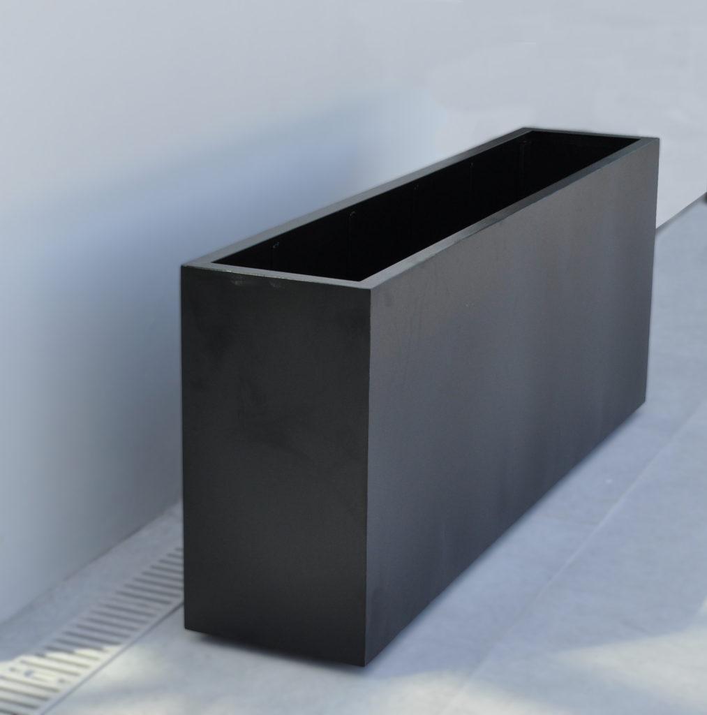 #14000.2 Black Planter Long Rectangular ADG Lighting