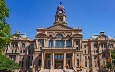 Tarrant County Courthouse in Dallas-Fort Worth