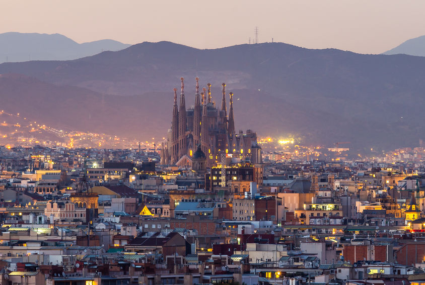 barcelona architecture Sagrada Familia