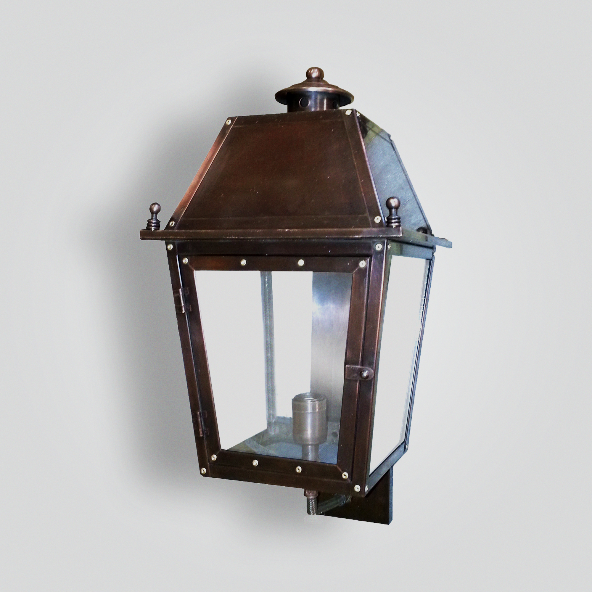 1047-mb1-br-w-sh-no-wall-lantern-faux-gas – ADG Lighting Collection