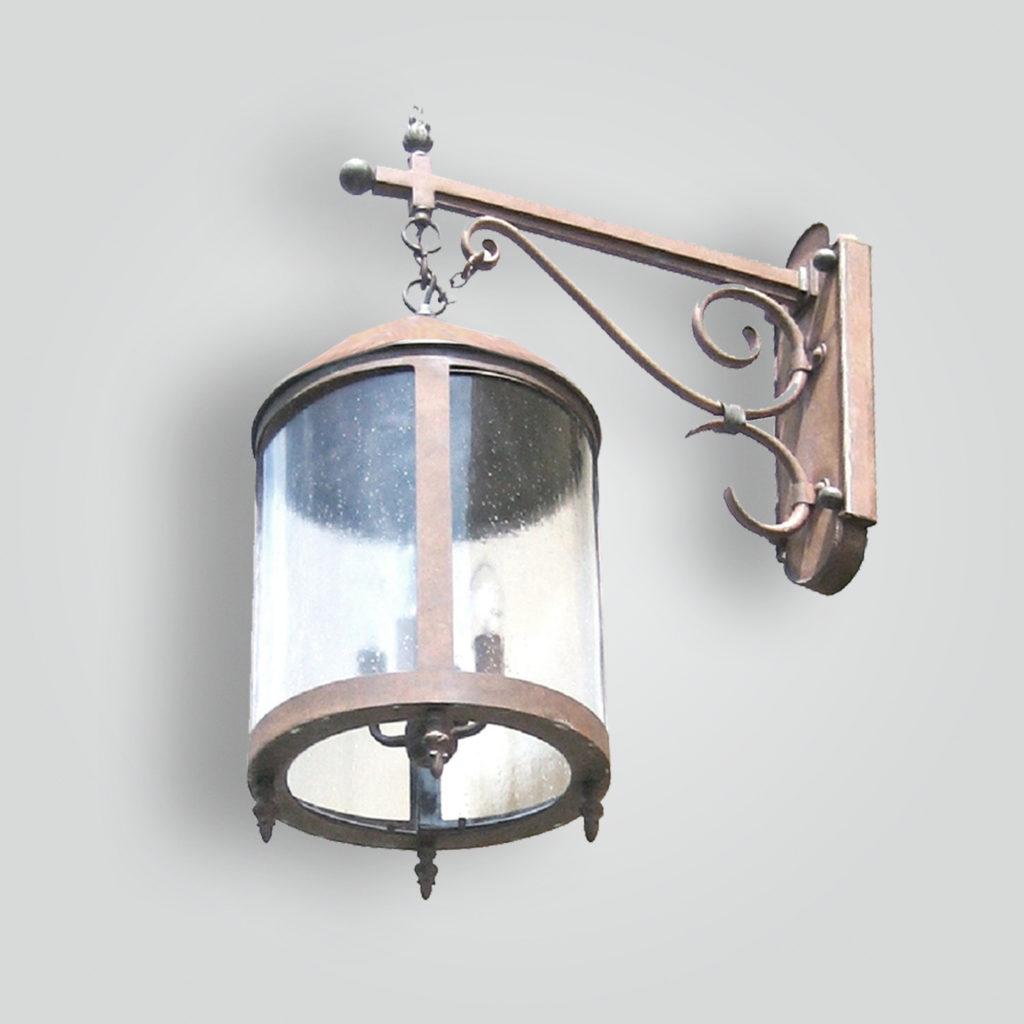 120-cb4-br-w-ba Round Lantern – ADG Lighting Collection